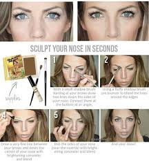 makeup tips to make your nose look smaller 3
