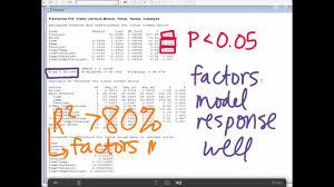 3 Level Fractional Factorial Design Minitab 3 3 Full Factorial And Fractional Factorial Analysis