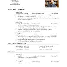 Pastoral Resumes Resume Samples Yale Valid Sample Resume Yale Law Valid Yale Resume