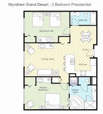Marvelous Wyndham Grand Desert Room Floor Plans Unique Wyndham Grand Desert 3 Bedroom  Presidential Suite Bedroom Ideas