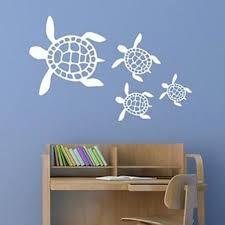 Sea Turtle Bathroom Accessories Sea Turtle Scene Vinyl Wall Decal Sticker B00bb3csyg Vinyls