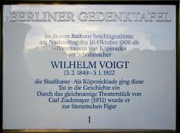 「Friedrich Wilhelm Voigt」の画像検索結果