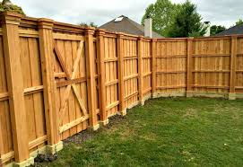 Backyard Fence Design Fascinating Fencing Statewide Roofing