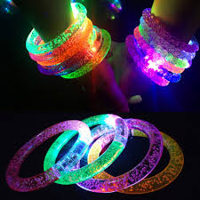 Glow Light Toys 1pcs Glow In The Dark Luminous Rings Bracelet New Children