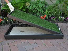 remove tray s from potty frame pet patio potty faq doggy solutions