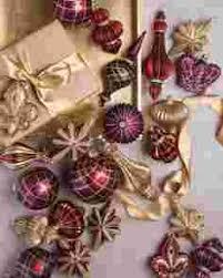 Moose Ornament Set Christmas Ornament Sets  BlackBeltShop Christmas Ornament Sets