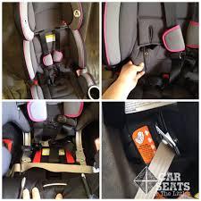 baby car seat belt replacement ba trend ez flex loc using car seat