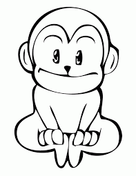 Small Picture Hanging Monkey Coloring Page H M Coloring Pages