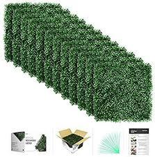 Amazon.com : flybold <b>Artificial</b> Boxwood Panels <b>Topiary Hedge</b> ...