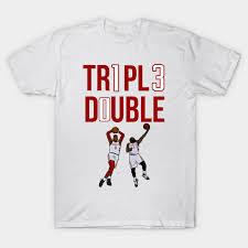 Triple Double James Harden X Russell Westbrook Nba Houston Rockets