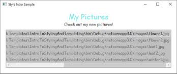 Style Templates Styles And Templates Wpf Microsoft Docs