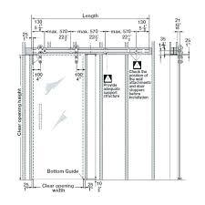 barn door height best of barn door sizes pictures also pole size vs opening track length barn door