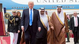 Image result for trump visits saudi