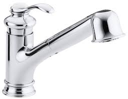 KOHLER K CP Fairfax Single Control Kitchen Sink Faucet