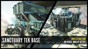 Ark Pve Base Designs Sanctuary Tek Base Ark Extinction Pve Base No Mods