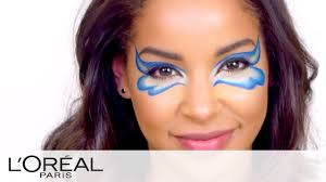 halloween makeup tutorials erfly eye with eyeliner l oreal