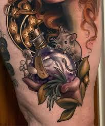 Magical Forest Alchemist Best Tattoo Design Ideas