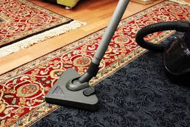 house cleaning with vacuum cleaner