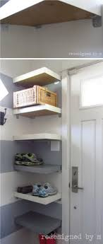 ways ikea lack shelves hative diy ideas wall shelf corner for shoes and baskets floating wooden ladder hanging with hooks dark wood display cabinet