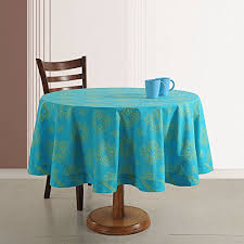 indian cotton home décor 70 inches round printed fl tablecloth 4 seater b015hdbomw