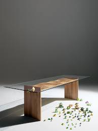 Italian Glass Dining Table Ripples Italian Glass Dining Table Glassdomain