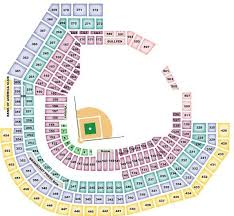 St Louis Cardinals Seating Chart For Busch Stadium
