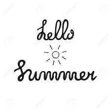 夏の引用筆ペン手書きは心に強く訴えるタイポグラフィをレタリングします太陽とヤシの木のイラスト分