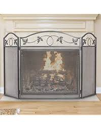 Unique fireplace screens Single Panel Amagabeli Panel Pewter Wrought Iron Fireplace Screen Outdoor Metal Decorative Mesh Cover Solid Baby Safe Amazoncom Shop Amazoncom Fireplace Screens