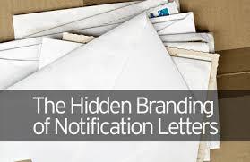 The Hidden Branding Of Notification Letters Jb