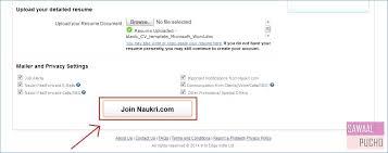 How To Upload My Resume In Naukri Igniteresumes Com