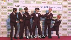 160217 Bts Gaon Kpop Awards Redcarpet