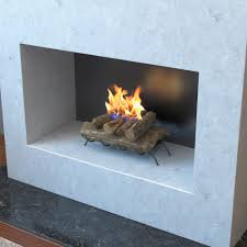 18 inch convert to ethanol fireplace log set with burner insert from gel or gas logs