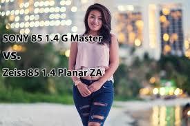 sony 85. sony 85mm 1.4 g master vs zeiss za with guam model genica 4k - youtube sony 85