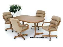 dining room table and chairs with wheels. Dining Room Chairs On Wheels Table Sets With Caster . And