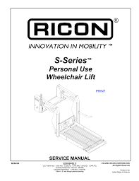 ricon lift wiring diagram unique s1000 p series s series split ricon lift wiring diagram unique s1000 p series s series split platform for personal use