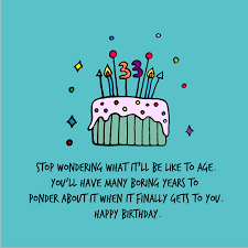 33rd Birthday Quotes Wishesgreeting