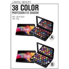 Lakyou Beauty 38 <b>Color Professional</b> Eyeshadow, Box, Rs 220 ...