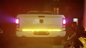 3 Color Led Tailgate Light Opt7 Redline Triple Led Tailgate Light Bar Installation Dodge Ram