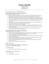 Sample Resume Preschool Teacher Preschool Teacher Resume Preschool