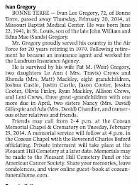 Ivan Gregory Obituary - Newspapers.com