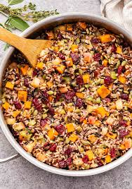 Many will argue that stuffing is cooked inside a turkey, while dressing is cooked alongside the bird. Wild Rice Stuffing Recipe Runner