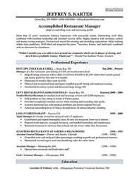 restaurant manager resume sample restaurant manager resume will ease anyone who is seeking for job related to managing a restaurant restaurant manager resume template