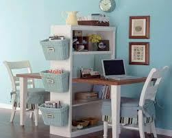 small office work space design. compact home office design for small rooms two work areas separated by shelving unit space