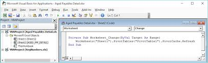 Tech Tues Automatically Refreshing Pivot Tables In Excel