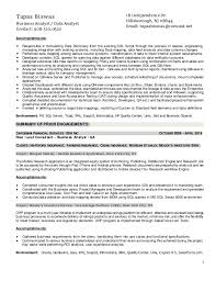 Resume Of Tapas Biswas Business Analyst Design Inspiration Business