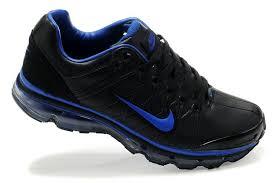 nike air max 2009 mens shoes black navy blue leather nike air max new