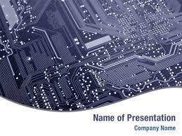 Powerpoint Circuit Theme Printed Circuit Board Powerpoint Templates Printed Circuit