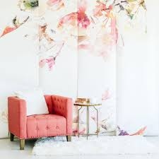 Contemporary Spring Floral Wallpaper \u2013 Project Nursery