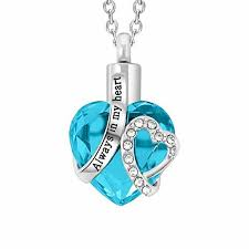 fashion glass heart pendant for holding