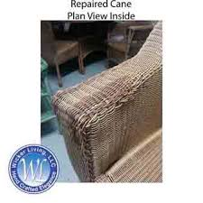 repair damaged wicker furniture